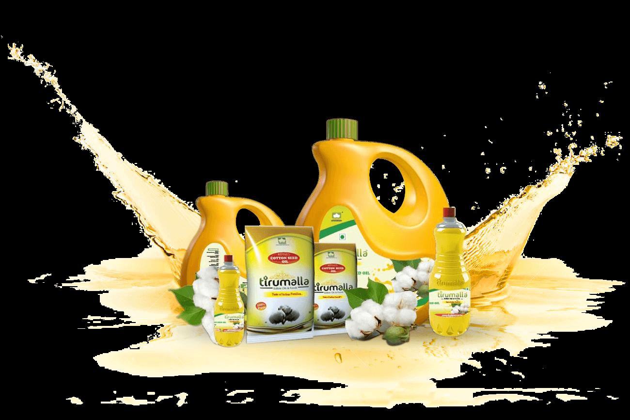 tirumalla cotton seed oil