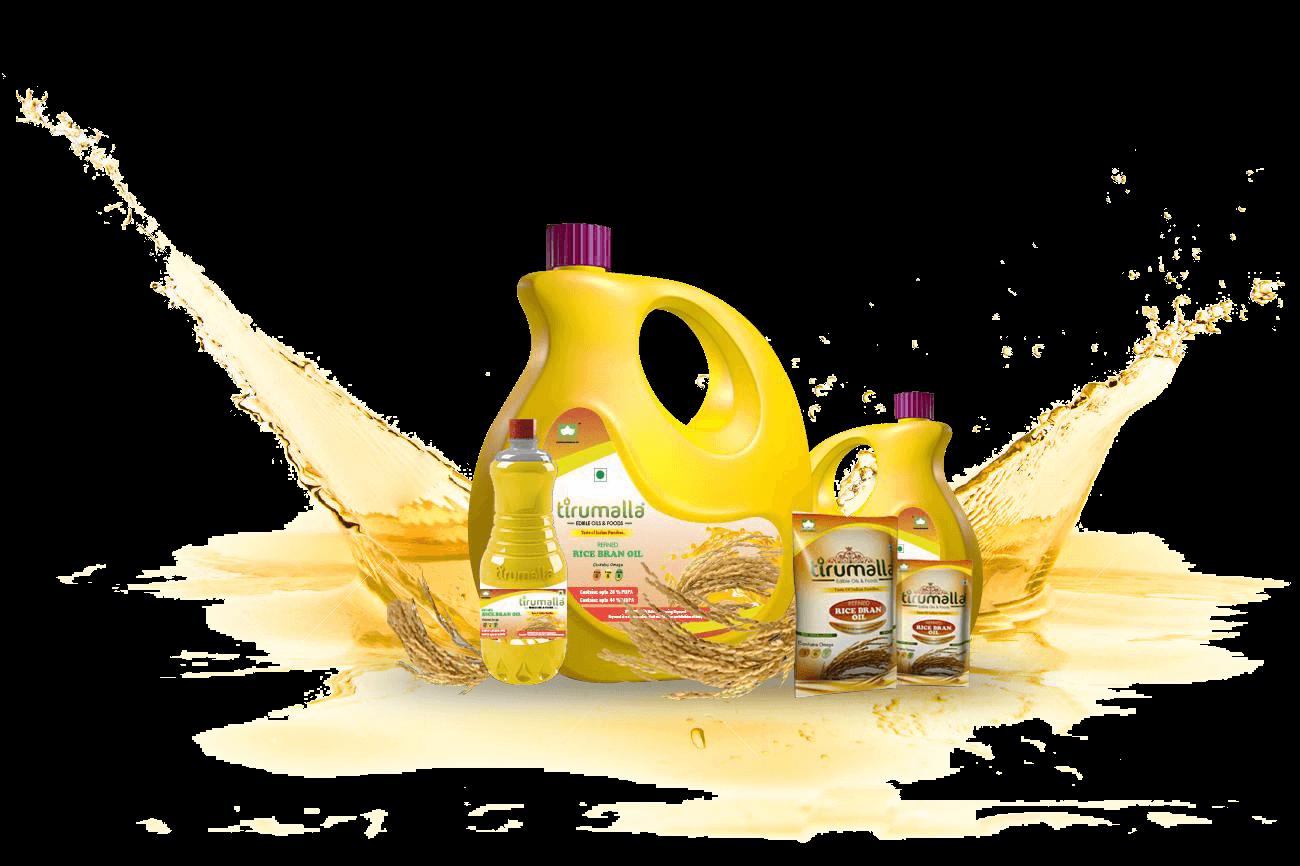tirumalla rice bran oil
