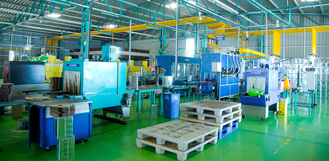 inner view tirumalla oil refinery plant at beed
