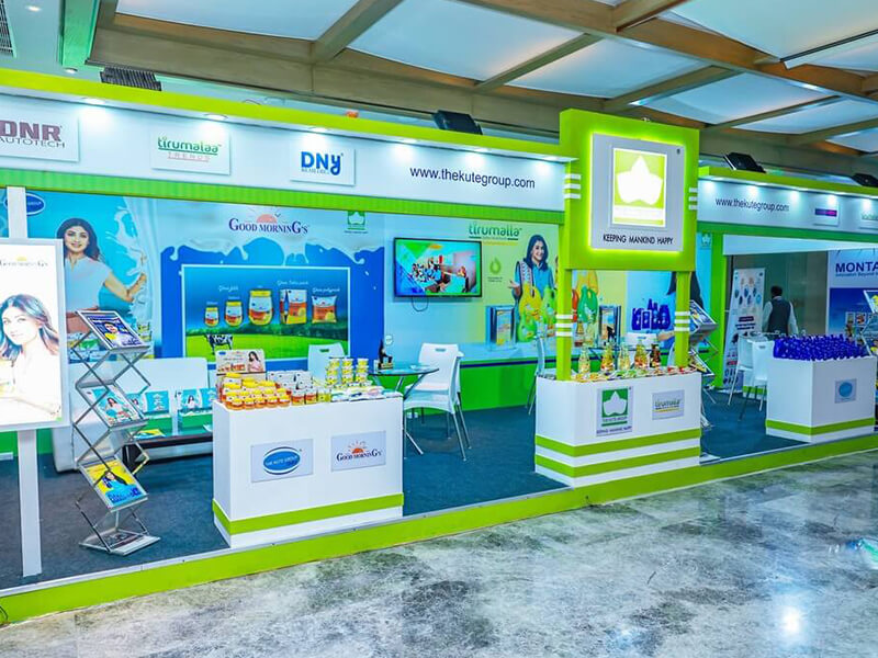 tirumalla oil participated in exhibitions held in the year 2021